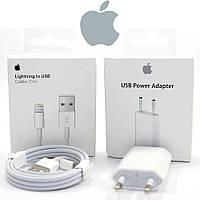 Зарядка для Айфона (Apple Charger MD813M/A + Apple Usb MD818ZM/A) Оригинал