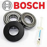 Комплект подшипников и сальник (6306+6205+35*72*10/10) для стиральной машины Bosch
