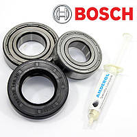 Комплект подшипников и сальник (6205+6206+35*62*10/12) для стиральной машины Bosch
