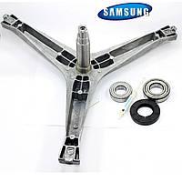 Набор крестовина Samsung DC97-15184A Оригинал, комплект подшипников (6205+6206) + сальник