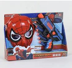 Набор маска Человек Паук и бластер