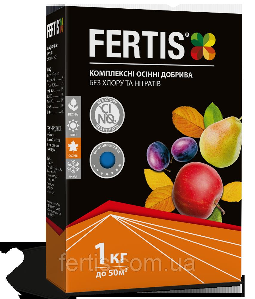 Осіннє добриво Fertis без хлору та нітратів, 1 кг