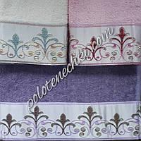 Махровое кухонное полотенце Узор