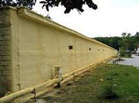Напыление ППУ фасадов и цоколей (100 мм)