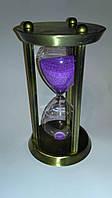 Песочные часы латунные на 30 минут