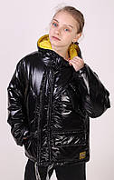 Куртка - сумка-  оверсайз демисезонная  для девочек, рост 140 - 158 см в четырёх цветах  - S2819