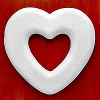 Сердце #03 из пенопласта (основа для композиций) 27 см