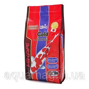 Корм для карпов кои Hikari Gold 2 kg (усиления окраски, корм для прудовых рыб)