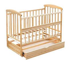 Кроватка детская Наталка Ольха