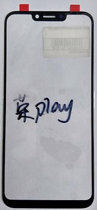 Скло модуля для Huawei Honor Play black, фото 2
