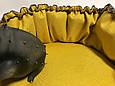Лежанка для собаки кота, лежак для собаки кота, спальное место МЕБЕЛЬНАЯ ИЗНОСОСТОЙКАЯ ТКАНЬ, фото 4