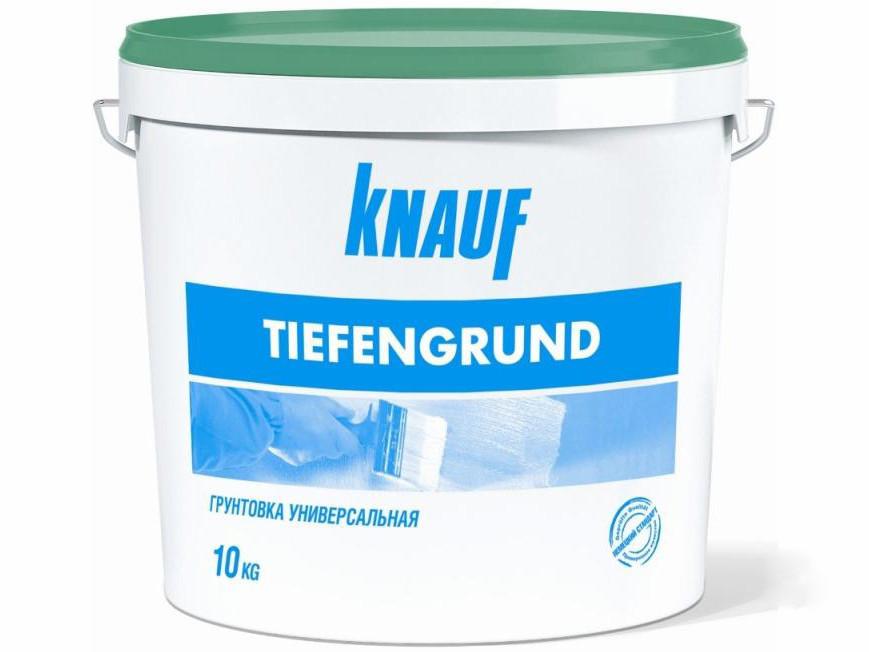 Грунтовка глубокопроникающая KNAUF Tiefengrund (10 кг)