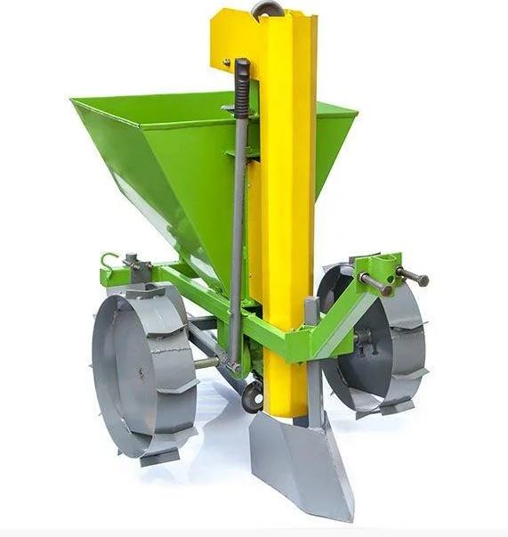 Картофелесажалка Протек КСМ-2 с транспортировочными колесами