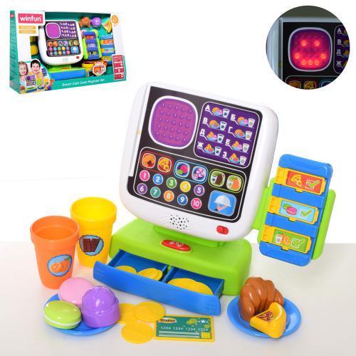 Детский кассовый аппарат 2515-07