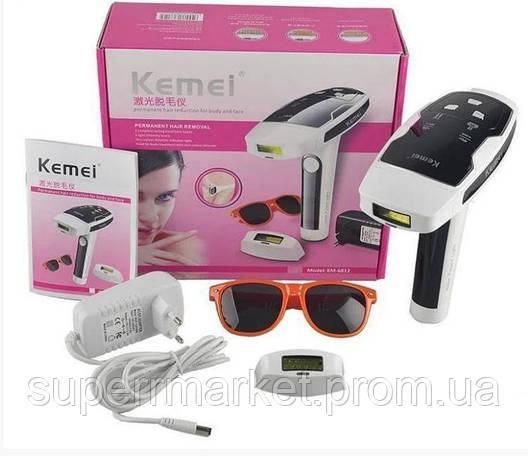Kemei KM-6812 лазерный фото-эпилятор, фото 2
