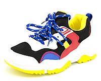 Кросівки дитячі Різнокольорові Розміри: 34
