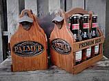 Ящик для переноски бутылок с гравировкой, фото 3