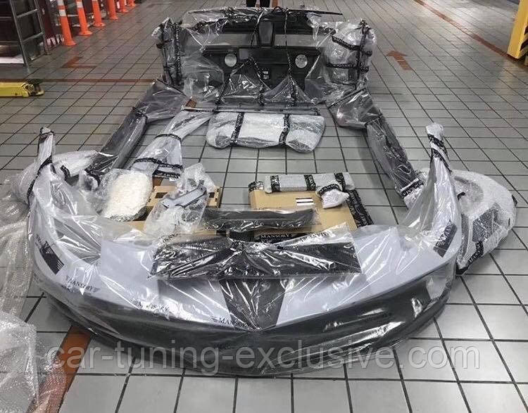 MANSORY front kit 4xx low flap for Ferrari 488 GTB / Spider