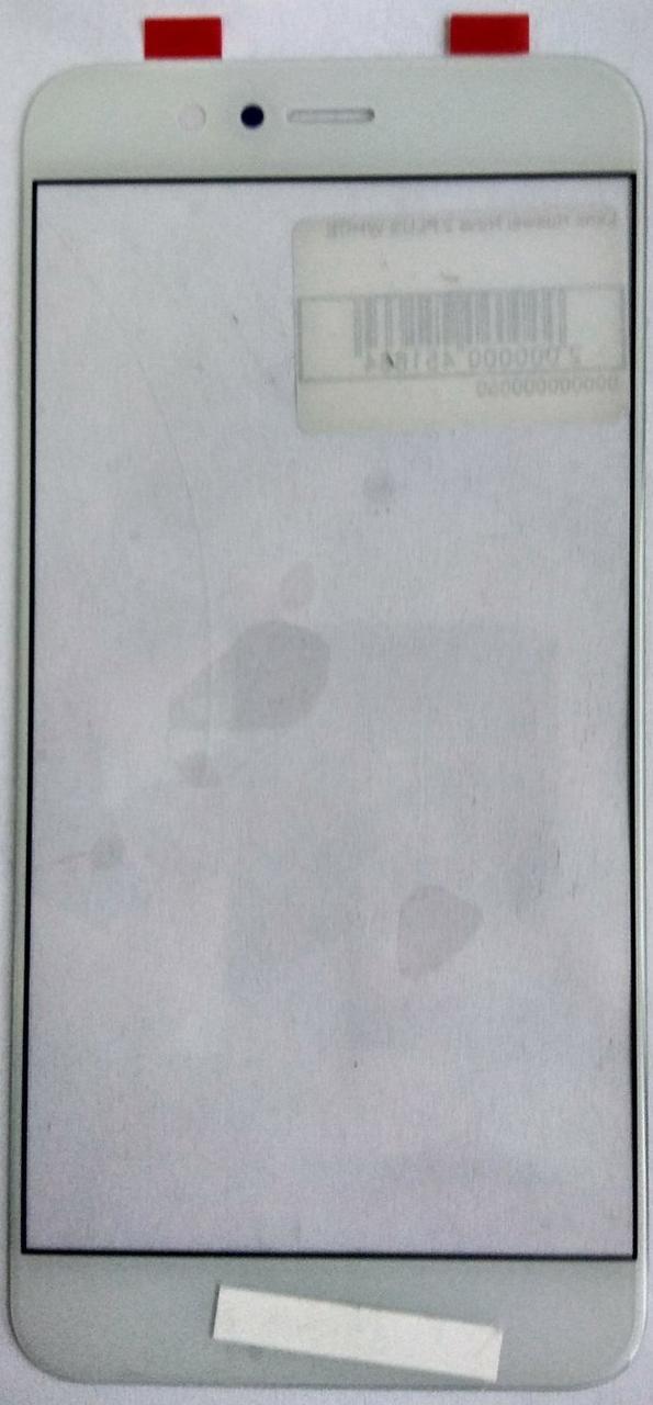 Скло модуля Huawei Nova 2 Plus білий