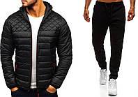 Куртка + штаны + СКИДКА | комплект HOT x Black мужской весенний осенний до 0*С