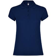 Женская рубашка-поло, т.синий, ROLY Star W200, размеры от S до XXL, плотность 200 г/м2
