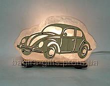 Соляной светильник Машина маленькая