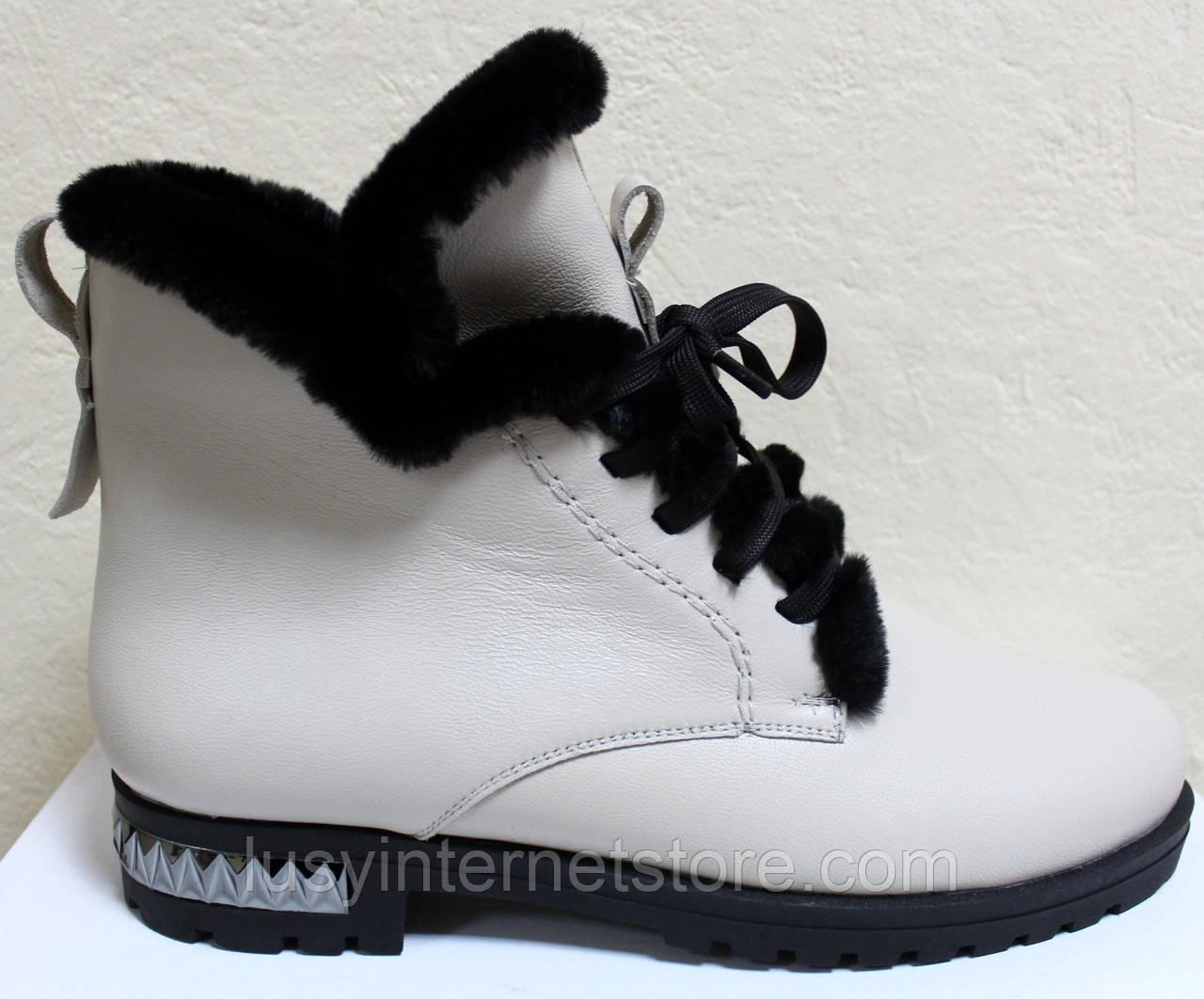 Ботинки женские зимние большого размера от производителя модель МИ5302-10