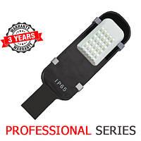 Консольный уличный светильник LED 30W 6000-6500К SMD серия PROFESSIONAL