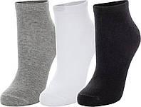 Носки детские Demix, 3 пары, серый/черный, 28-30
