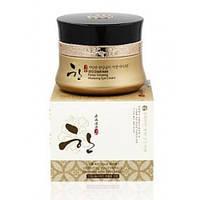 Восстанавливающий крем для век с женьшенем 3W CLINIC SEO DAM HAN Panax Ginseng Vitalizing Eye Cream
