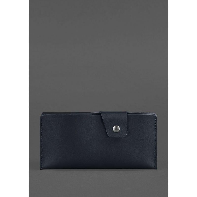 Кожаное портмоне-купюрник 8.0 черное