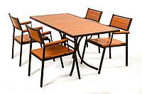 "Комплект мебели для кафе Микс-Лайн ""Бристоль"" Тик"