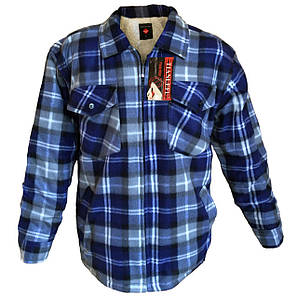 Рубашка мужская на меху