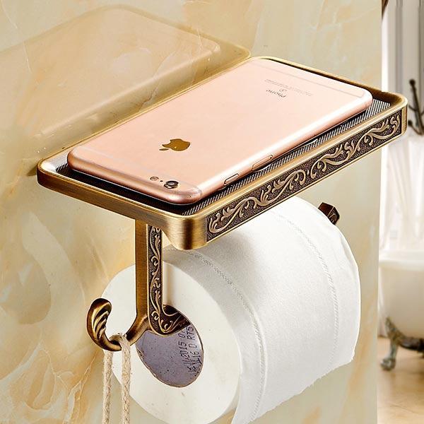 Держатель туалетной бумаги Art-Design бронза