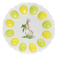 Тарелка для 12 яиц Зайка 31,5см, фото 1