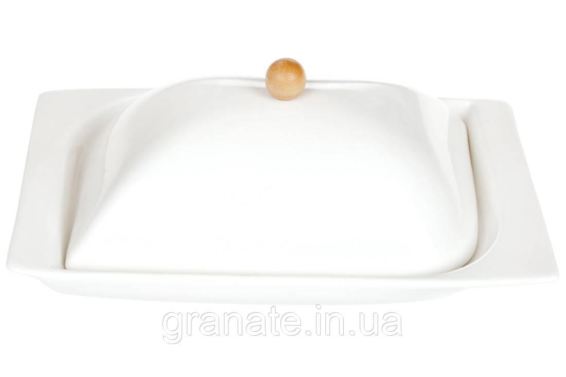 Масленка фарфоровая 19 см