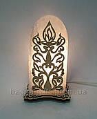 Соляной светильник свеча
