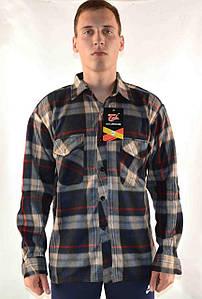 Рубашка мужская флис