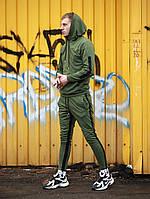 Спортивный костюм мужской Admiral X khaki весенний осенний | ТОП качество