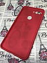 Чехол / бампер / накладка для Xiaomi Mi 8 Lite цветной силиконовый матовый красный, фото 2