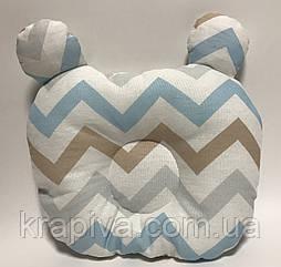 Ортопедическая подушка для новорожденных, анатомическая, ортопедична подушка для немовлят