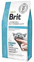 Лечебный корм для кошек с лишним весом Brit GF Veterinary Diet Cat Obesity