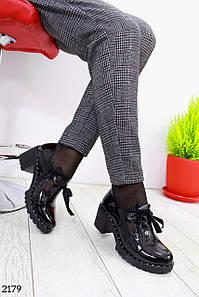 """Туфли """" Aroma """" Черный туфли."""