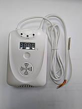 Беспроводной датчик температуры  ALARM KR-01 GSM New Белый (GFTYDJHV4578YGHU)