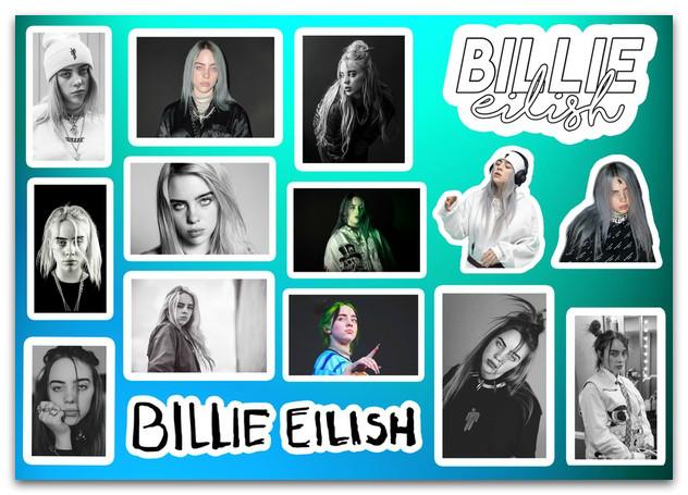 Стикерпак Билли Айлиш, Billie Eilish #262