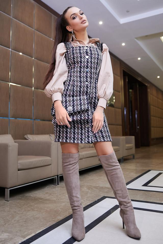 Деловое платье женское