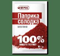 """Паприка сладкая молотая 15 г  ТМ """"Впрок"""""""