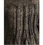Повседневное женское платье цвет-бронза, фото 4