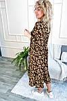 Роскошное платье миди в цветочный принт (0952), фото 3