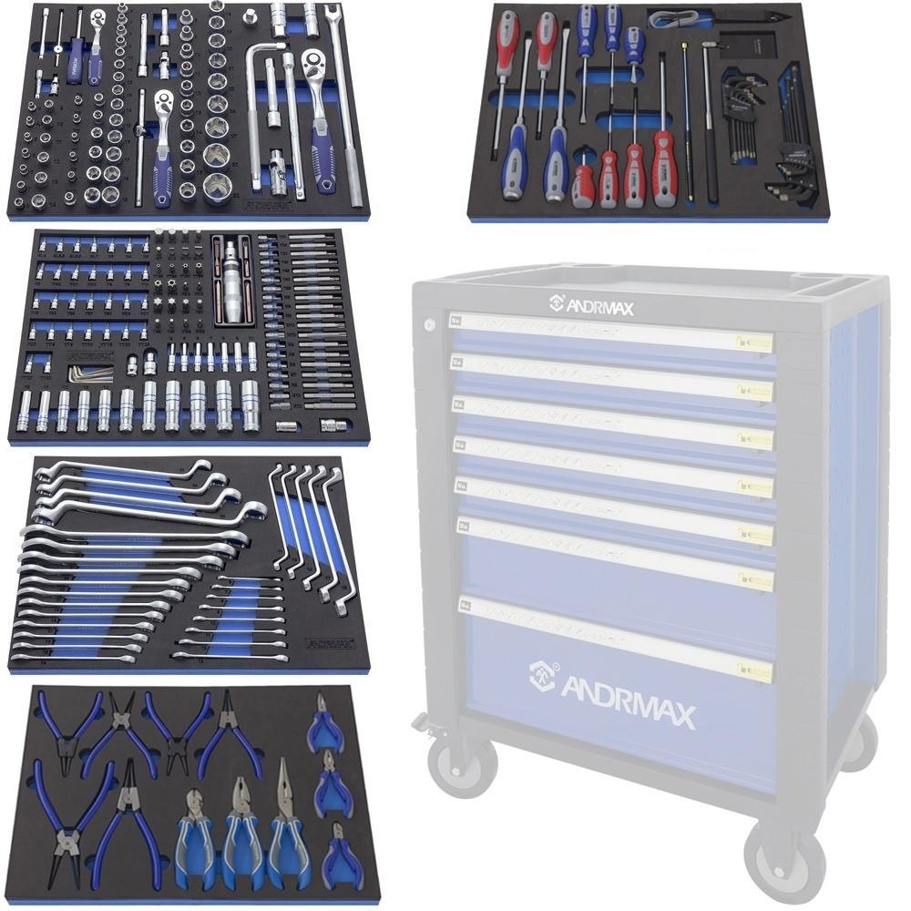 Набор инструмента для телег, 279 предметов ANDRMAX